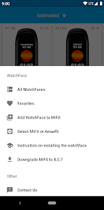 MiBand4 WatchFace for Xiaomi Mi Band 4 1.4.3 Ad Free 4