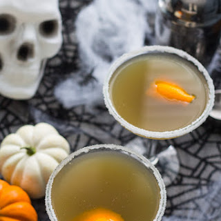 Pumpkin Chai and Liquorice Martini