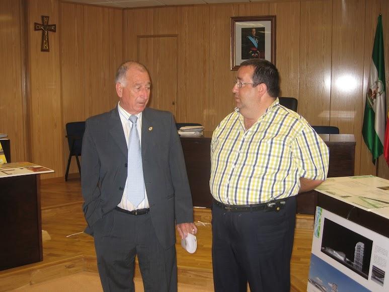 El alcalde Gabriel Amat, que siempre confió en Rubí para Deportes.