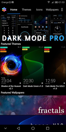 EMUI Themes Factory for Huawei Apk 1