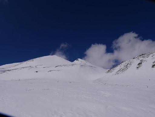 大日岳と剣ヶ峰