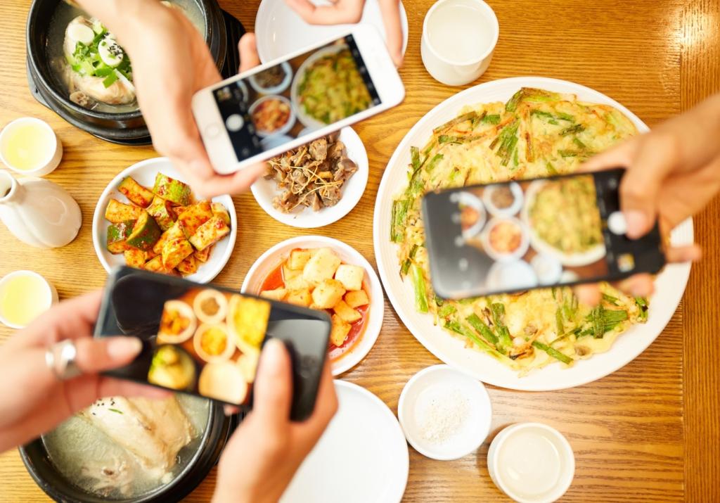 일본 한국 음식