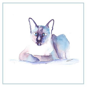 Siamese Watercolour