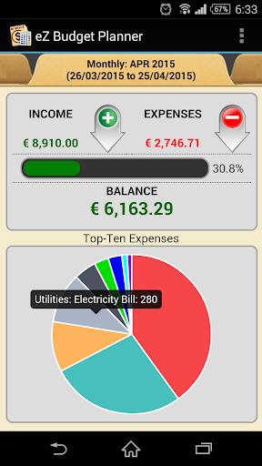 eZ Budget Planner(試行)