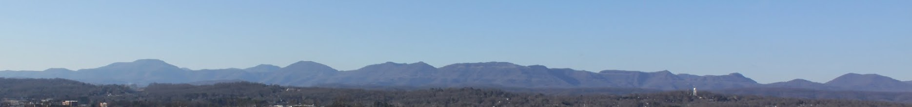Photo: Cumberland Mountains from Oak Ridge Summit