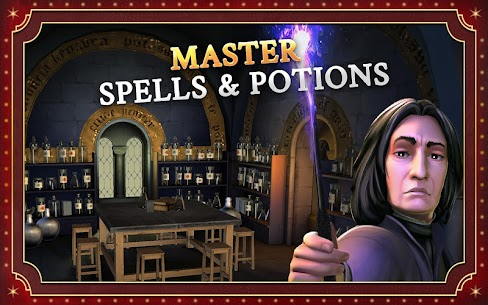 Harry Potter Hogwarts Mystery Mod Apk 3 3 3 Unlimited Energy