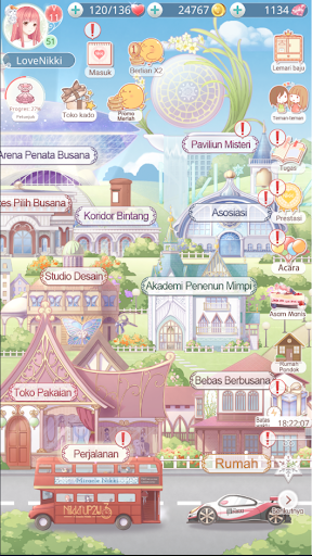 Love Nikki - Dress Up Fantasy Tunjukkan Gayamu 3.0.3 screenshots 7
