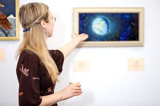 """Photo: """"У сяйвосині зірок засніжених у космосі вічновагітному земля от-от народиться... люлі-лю…""""  Катерина Єгорушкіна"""