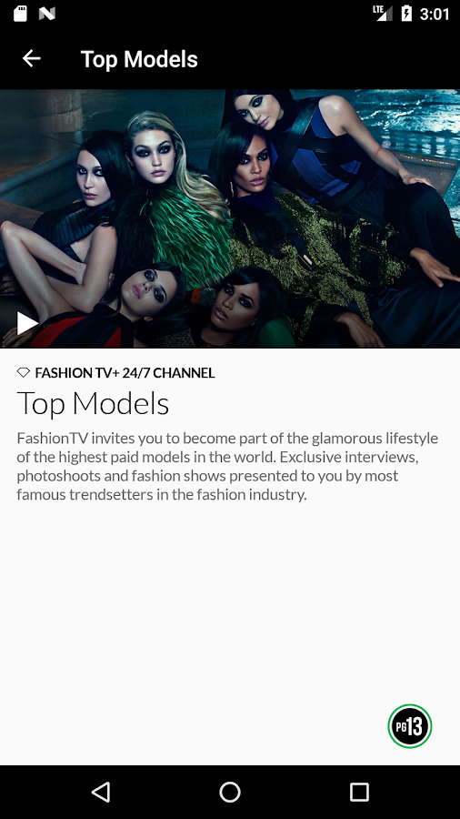 FTV+ 12 fashiontv channels- screenshot