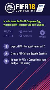 EA SPORTS™ FIFA 18 Companion for PC-Windows 7,8,10 and Mac apk screenshot 5