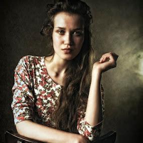 by Soran Sorin - People Fine Art ( chair, woman, light )
