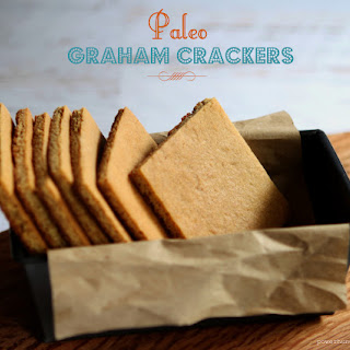 Easy Paleo Graham Crackers {gluten-free, grain-free, almond flour}.