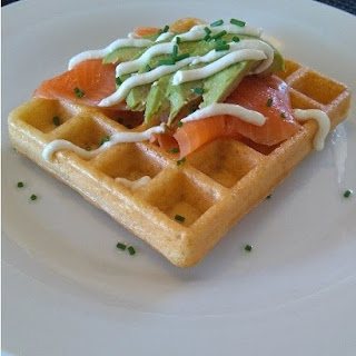 Savoury Courgette Waffles