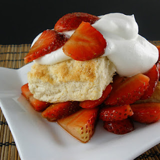 Balsamic Strawberry Shortcake
