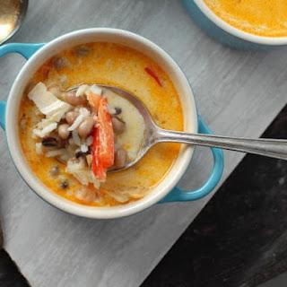 Coconut Black Eyed Pea Soup Recipe