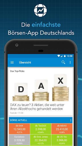 Finanzen100 - Börse, Aktien & Finanznachrichten  screenshots 1
