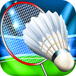 Badminton Super League 3D Icon