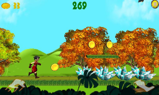 無料街机Appの森のランナー 記事Game