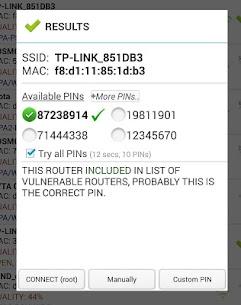 Wifi WPS Plus (MOD, Ad-Free) v3.3.1 2