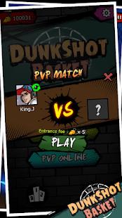 Dunk Shot Basket poster