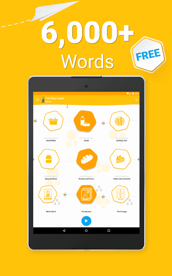 Learn Danish Vocabulary - 6,000 Words- screenshot