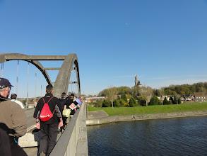Photo: Boven de dorpskern van Antoign zien we het kasteel