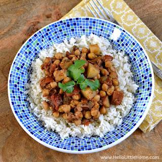 Quick Chickpea Potato Curry