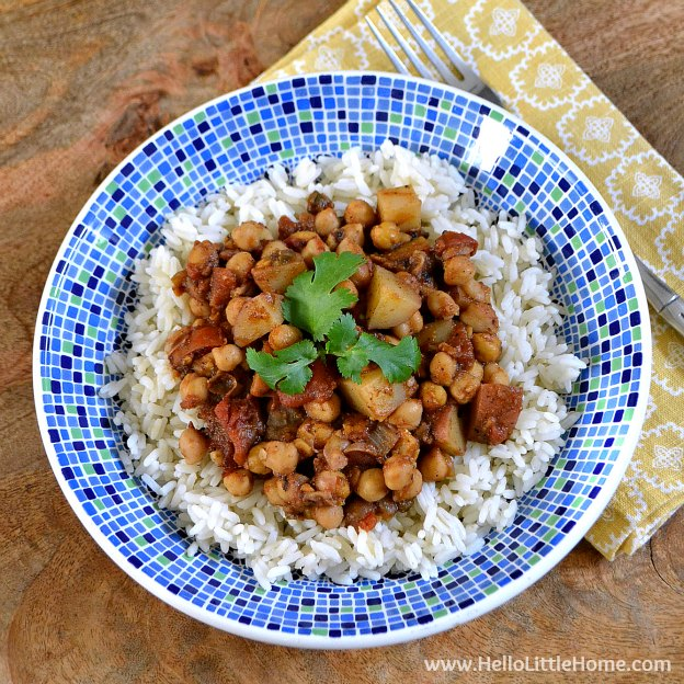Quick Chickpea Potato Curry Recipe | Yummly