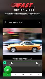 Fast Motion Video Editor - náhled