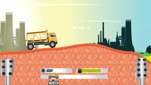 Crazy Trucks Climb Game