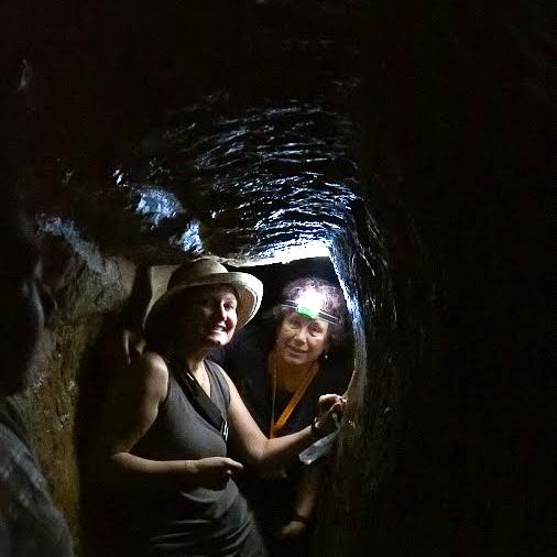 Светлана Фиалкова - гид в Иирусалиме на экскурсии Подземный Иерусалим.