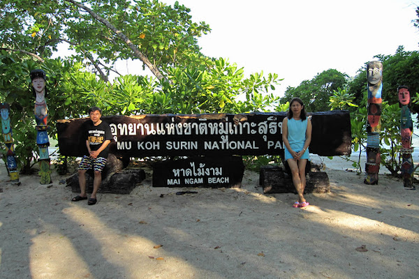 Arrival at the Park Ranger Station of Mu Ko Surin National Park