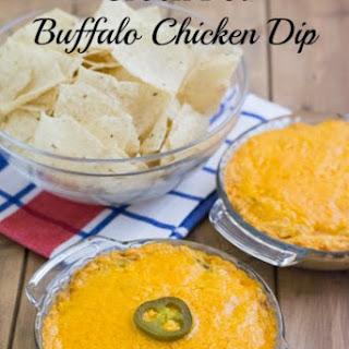 Crock Pot Buffalo Chicken Dip.