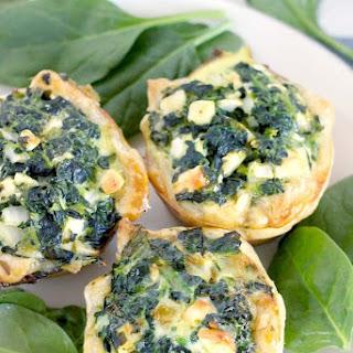 Mini Spinach Feta Pies (Spanakopita) Recipe
