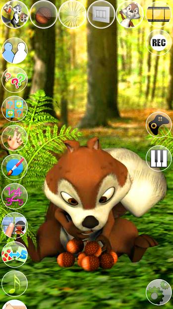 Talking James Squirrel screenshot 20
