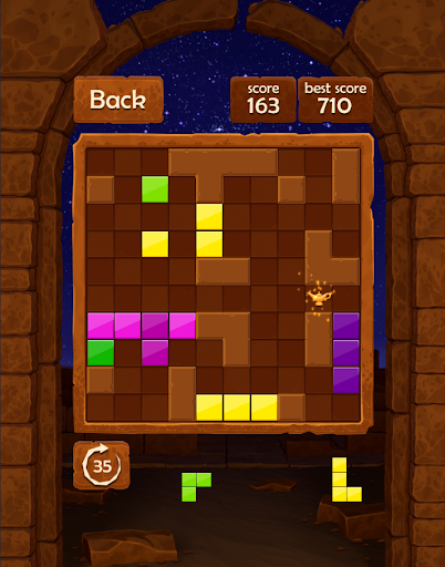 Block Puzzle : Night in Egypt|玩解謎App免費|玩APPs