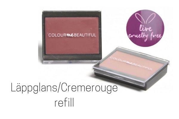 Cremerouge/Läppglans refill
