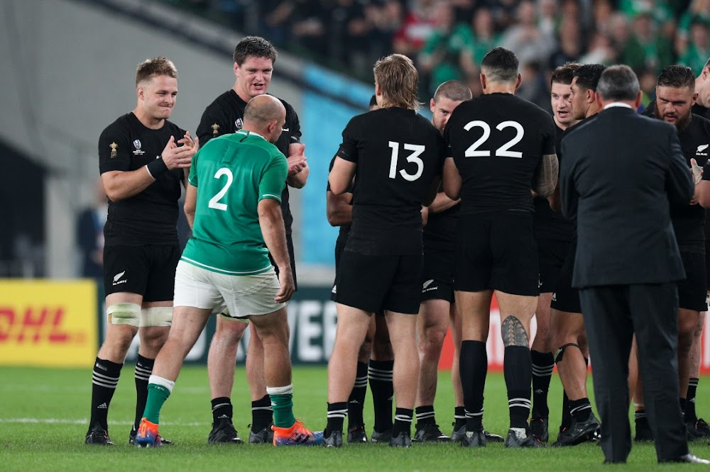 Ireland skipper Rory Best retires as New Zealand advance to semifinals