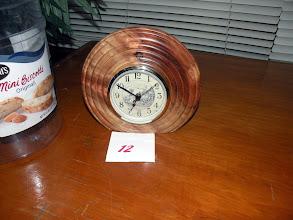 Photo: Bruce's clock entry