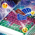 Qwerty Keyboard Neon Skin icon