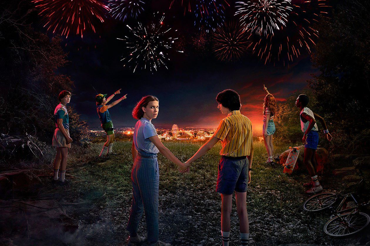 Image result for stranger things 3 wallpaper