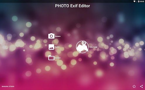 Photo exif editor Screenshot