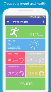 Mood Triggers: Anxiety Depression Insomnia Tracker Screenshot