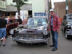 Photo: Richard Blake and his 1959 Continental