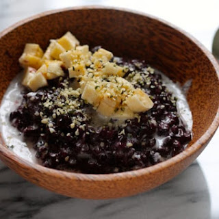 Indonesian Black Rice Pudding Recipe