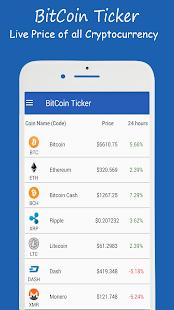 US BitCoin Price - US BitCoin Ticker for Crypto - náhled