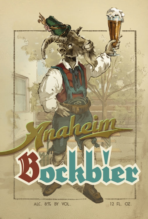 Logo of Anaheim Bock
