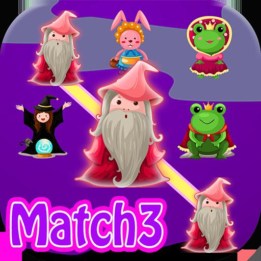 Wizard Match 3 game