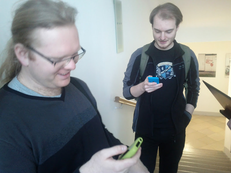 Photo: Martin und Florian bei Biertaucherpodcast 049