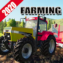 New Tractor Farmer Games 2020: Real Farming Games icon